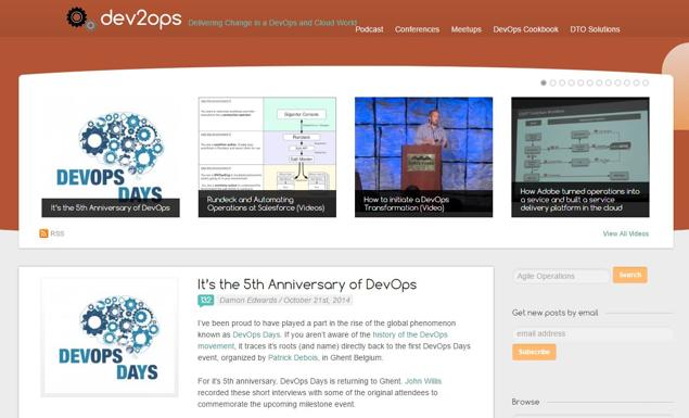 dev2ops blog