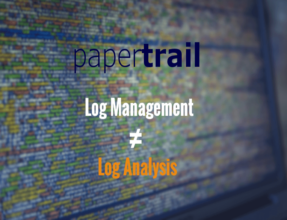 Papertrail alternatives – why you should check them