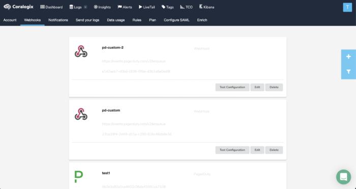 new alert webhook screenshot