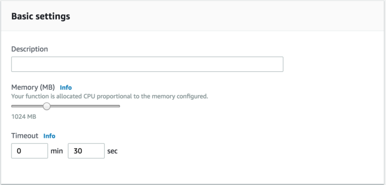 amazon vpc to coralogix integration increasing memory