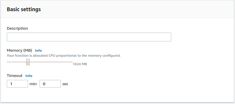amazon-cloudtrail to coralogix integration memory settings