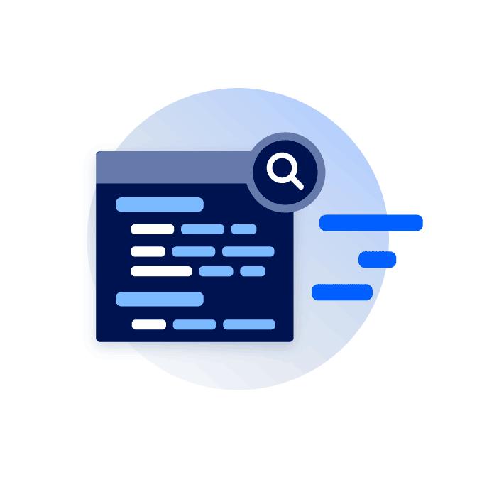 Fast log queries