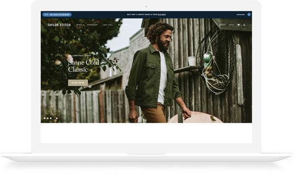 Taylor Stitch Website
