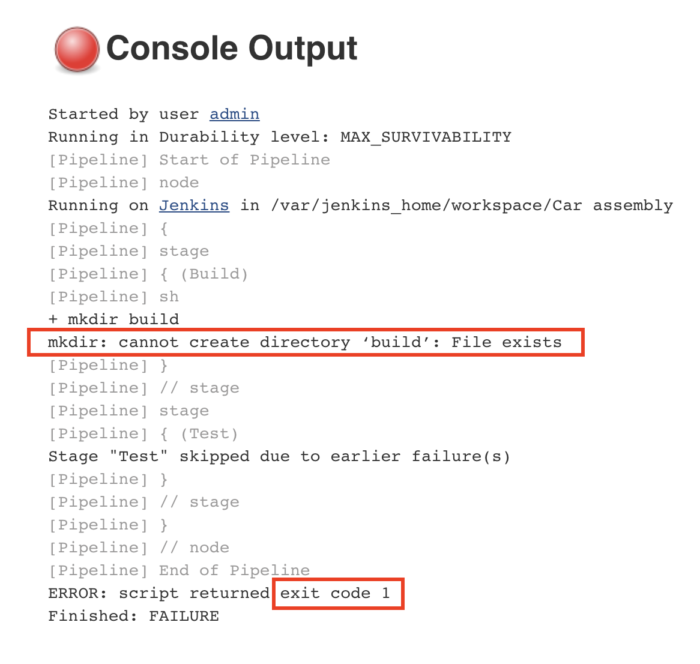 jenkins-failed-console-output