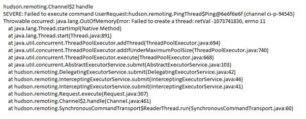 Monitoring Jenkins: Java Stack