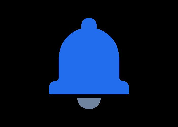 new value alerts icon