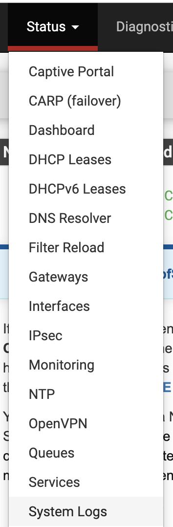 configure log forwarding firewall